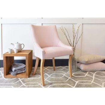 Albany Chair - Linara Rose Quartz