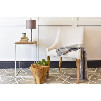 Albany Chair - Linara Silver Birch