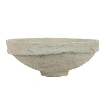 Arles Paper Mache Bowl