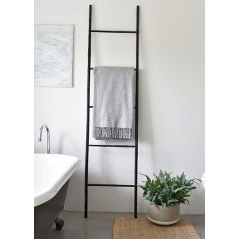 Bamboo Ladder - Matt Black