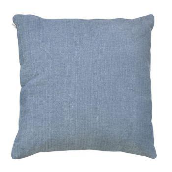 Large Handmade Cushion - Denim - Front