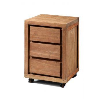Desk Cabinet 3 Drawer 45 - Hudson