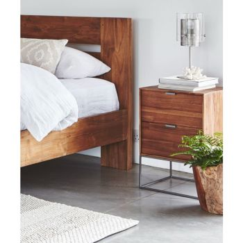 Witney Bedside Table with 2 Drawers
