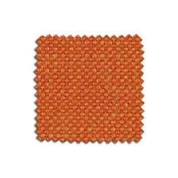 Cotton and Linen Weave Colour - Tangerine