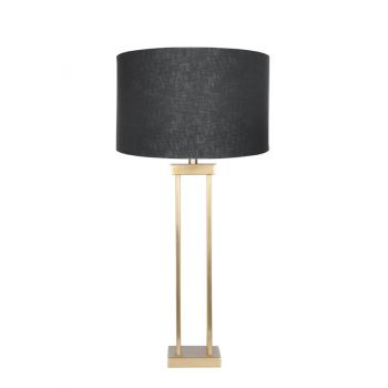 Lund Table Lamp Satin Gold