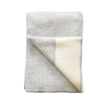 Mist Pure New Wool Throw
