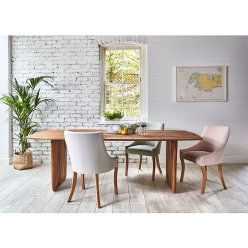Neve Dining Table - Unmilled