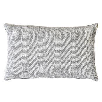 Small Handmade Cushion - Slate
