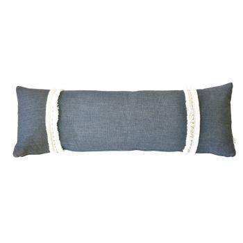 Large Handmade Lumbar Cushion - Symi