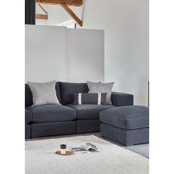 Small Handmade Lumbar Cushion - Symi