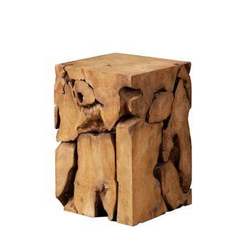 Teak Root Side Table
