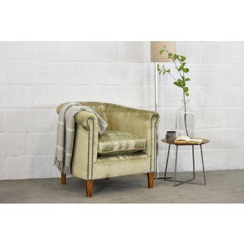 Tub Chair - Hayworth Feather Grey