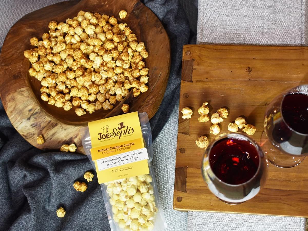 COMPETITION - win Joe & Seph's gourmet popcorn plus a handmade RAFT teak bowl