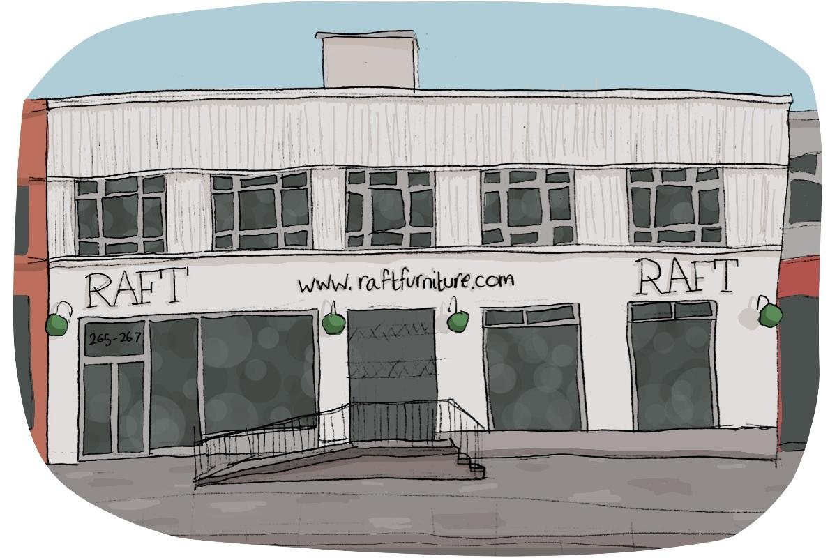 National Share a Story Month: Raft & North London