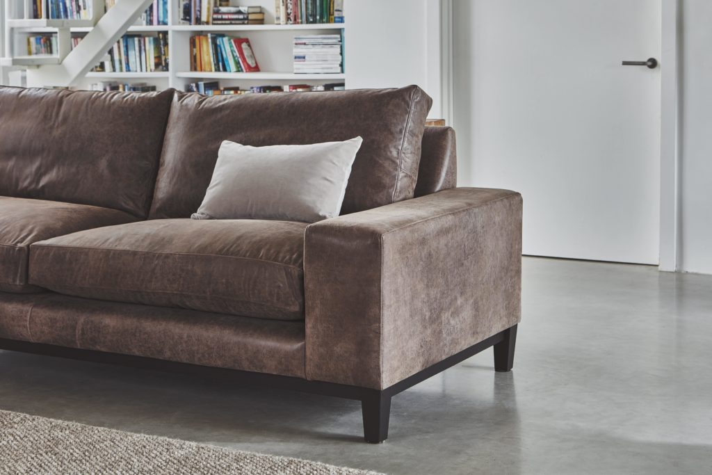 best selling sofa cropped image of the new york sofa with detail